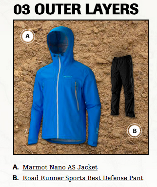 outer layers for hiking