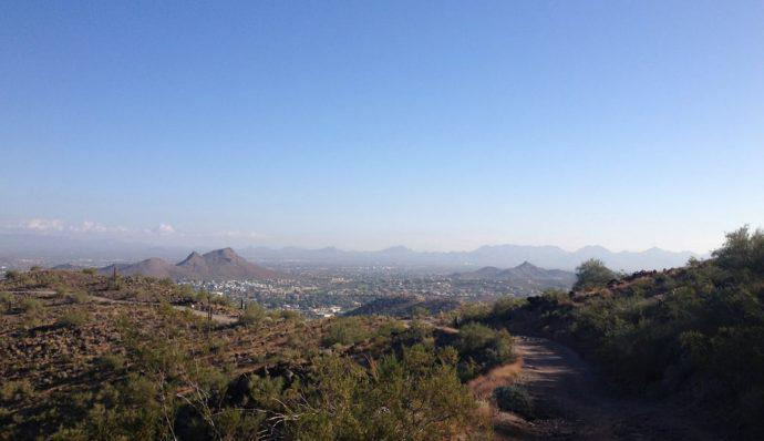 hiking trails in phoenix