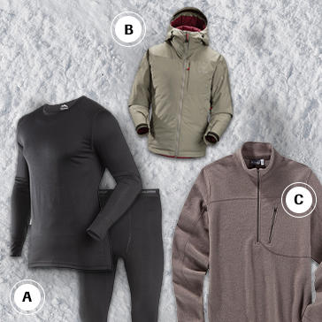 gear guide colorado haute route base and mid layers
