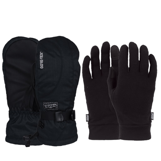 Women's Crescent GORE-TEX Long Mitt + Warm
